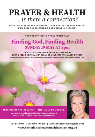 FINDING GOD FINDING HEALTH WEB POSTER
